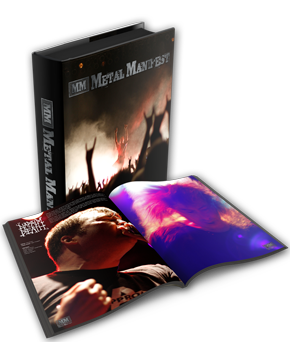 Metal Manifest photography book.